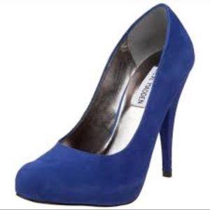 Steve Madden Trinite Royal Blue Pumps Size 7.5